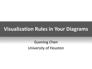 Visualization Rules in Your Diagrams