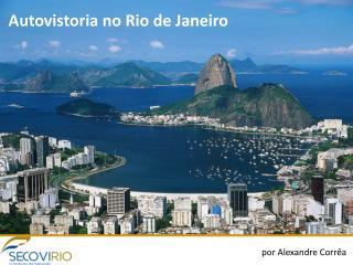 Autovistoria no Rio de Janeiro