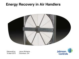 Energy Recovery in Air Handlers