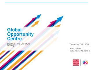 Erasmus+ Pre-Departure Briefing
