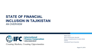 PROCESS OF IT BASED FINANCIAL INCLUSION
