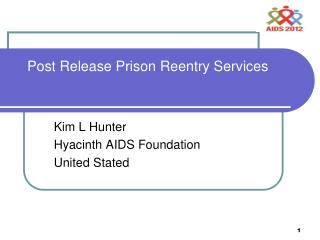 Post Release Prison Reentry Services