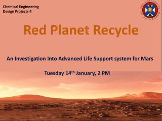 Presentation 14 th  February