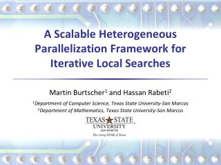A Scalable Heterogeneous Parallelization Framework for Iterative Local Searches