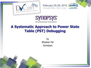 A Systematic Approach to Power State Table (PST) Debugging