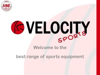 Welcome to the  best range of sports equipment