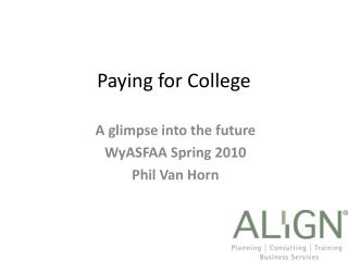 Paying for College