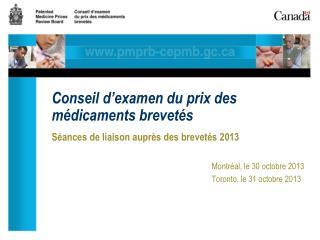 Conseil d'examen du prix des médicaments brevetés