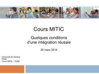 Cours MITIC