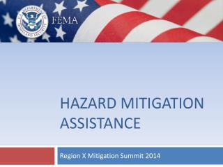 Hazard mitigation assistance
