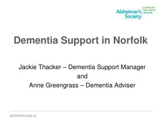 Dementia Support in Norfolk