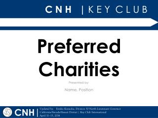 Preferred Charities
