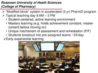 Roseman University of Heath Sciences (College of Pharmacy)