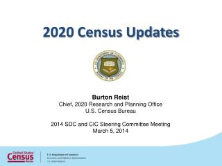 2020 Census Updates