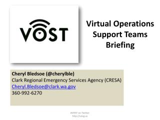 Virtual Operations Support Teams Briefing