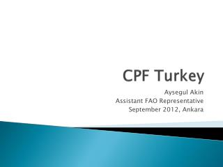CPF Turkey