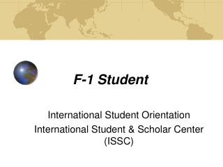 F-1 Student