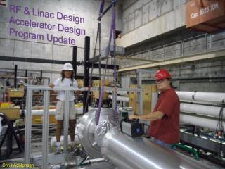 RF & Linac Design Accelerator Design Program  Update