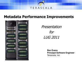 Metadata Performance Improvements