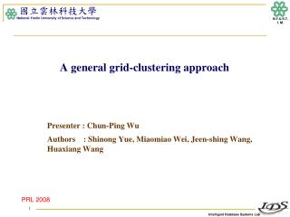A general grid-clustering approach