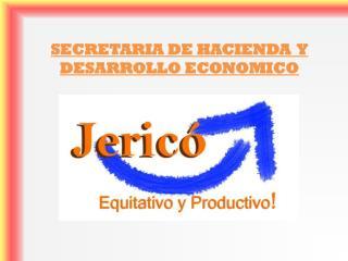 SECRETARIA DE HACIENDA  Y DESARROLLO ECONOMICO
