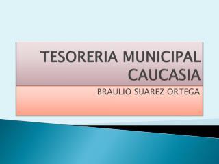 TESORERIA MUNICIPAL CAUCASIA