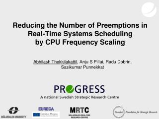 Reducing the Number of Preemptions in Real-Time Systems Scheduling by CPU Frequency Scaling