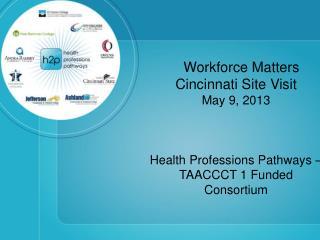 Workforce Matters Cincinnati Site Visit May 9, 2013