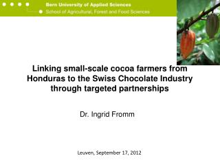 Dr. Ingrid Fromm
