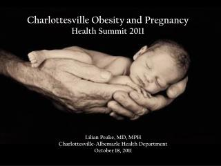 Charlottesville Obesity and Pregnancy  Health Summit 2011