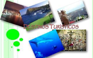 Destinos Tur�sticos