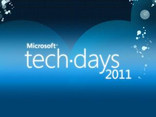 9 février 2011 Bastien SIMON – Stéphane PAPP Ingénieurs  Conseil Grands Comptes Microsoft