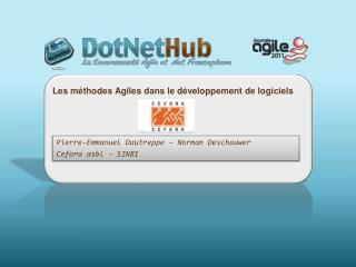 Les méthodes Agiles  dans le  développement  de  logiciels