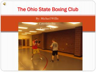 The Ohio State Boxing Club