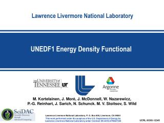 UNEDF1 Energy Density Functional