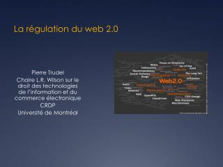 La régulation du web 2.0
