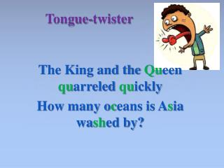 Tongue-twister