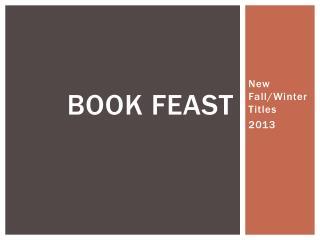 Book Feast