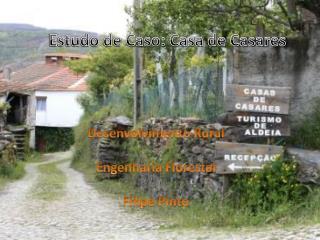 Desenvolvimento Rural Engenharia Florestal Filipe Pinto