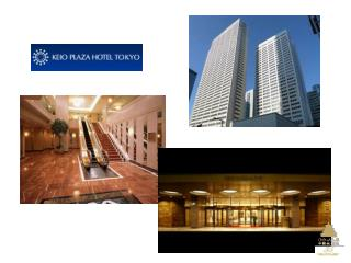 Localiza��o do  Keio  Plaza Hotel