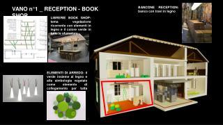 VANO n°1 _ RECEPTION - BOOK SHOP