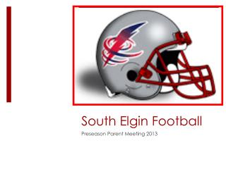 South Elgin Football