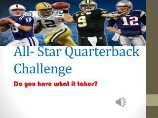 All- Star Quarterback Challenge