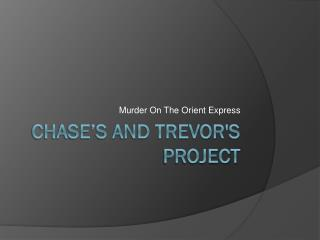 Chase's and Trevor's Project