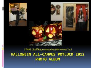 Halloween all-campus Potluck 2012 photo album