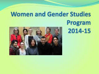 Women and Gender Studies Program 2014-15