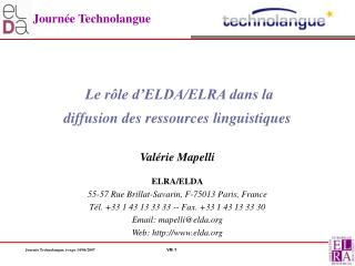 Journ e Technolangue