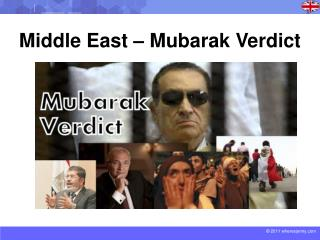 Middle  East � Mubarak Verdict
