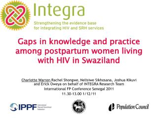 Gaps in knowledge and practice among  postpartum women living with HIV in Swaziland