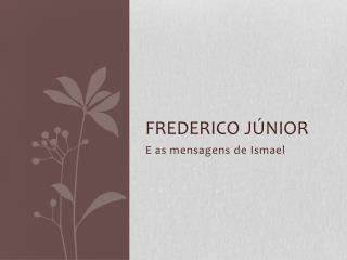Frederico júnior